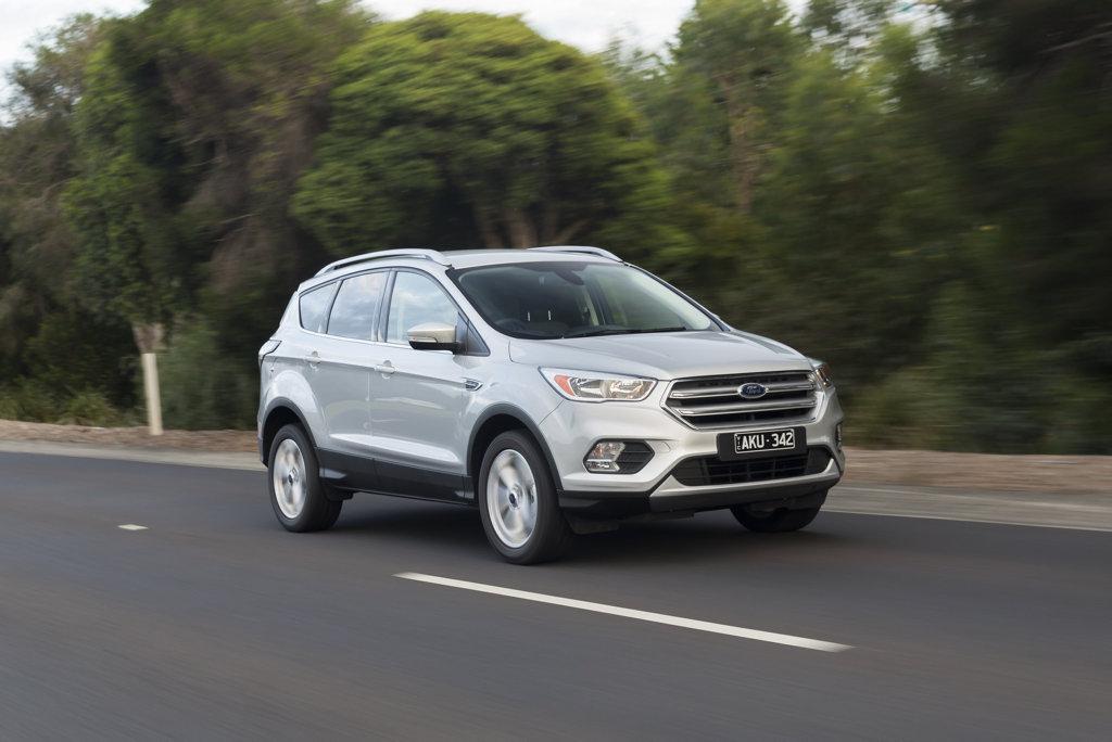The 2017 Ford Escape.