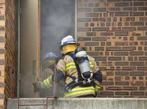 SUSPICIOUS: Police, fire units join forces in house fire investigation