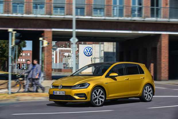 IMPROVING THE BREED: The facelifted 2017 Volkswagen Golf 7.5 is set to arrive in Australia this July, featuring style changes, a reworking to the model line-up and a heap of optional technology including futuristic gesture control.