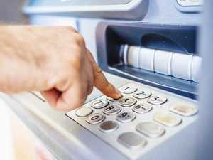 Man robbed at knifepoint while using ATM
