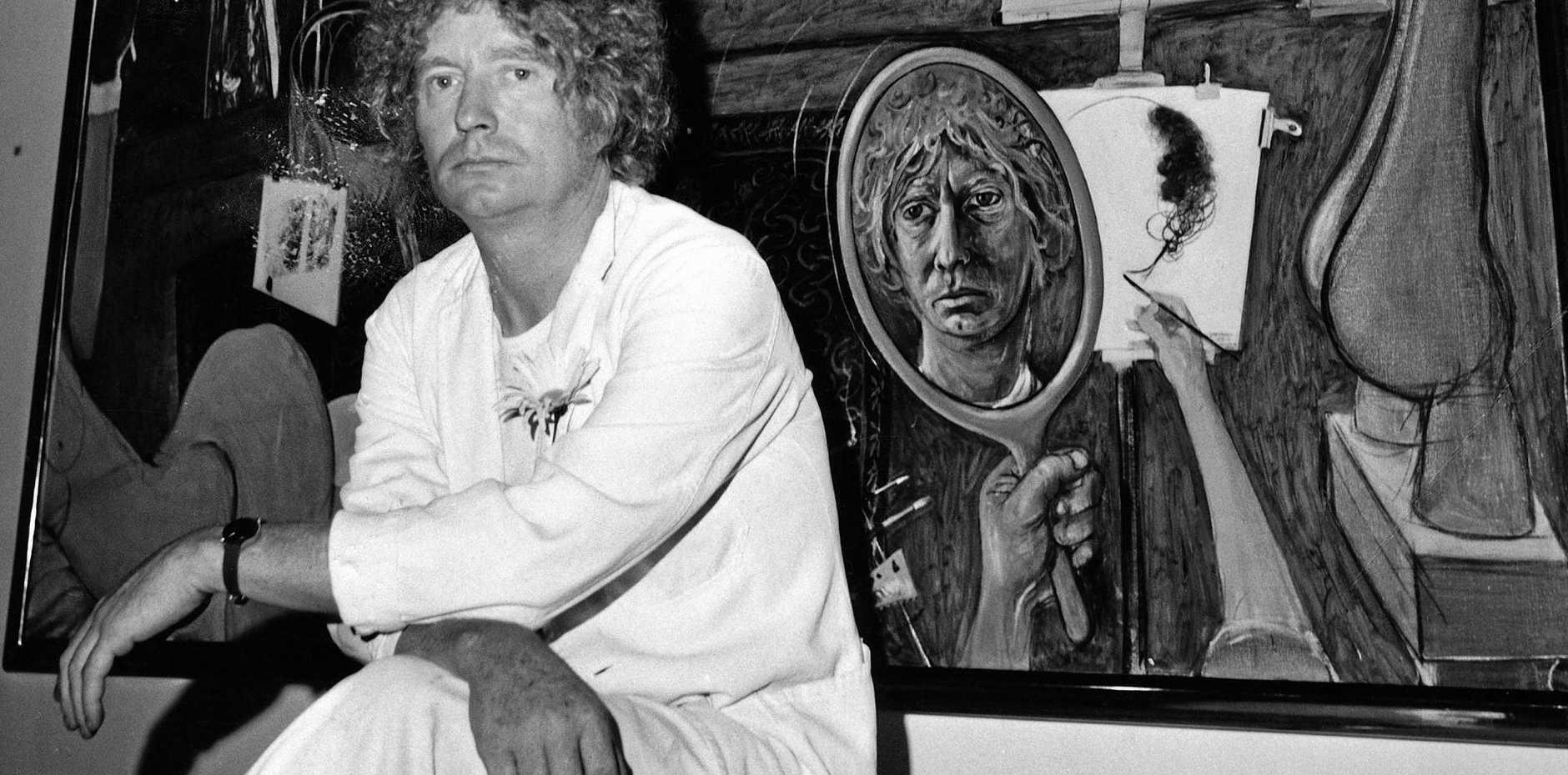 FESTIVAL HIGHLIGT: Late Australian artist Brett Whiteley comes under the spotlight in the Australian premiere of the documentary Whiteley, directed by James Bogle.