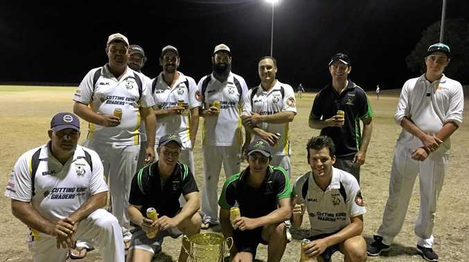TWENTY20 VISION: The Dawson Valley Taipans took out the mid-season short format tournament on Saturday night.