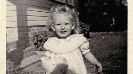 A young Anna during her early years in Brisbane.