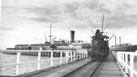 HISTORY: The Urangan Pier will turn 100 today.