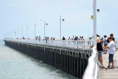 Urangan Pier. Photo: Alistair Brightman / Fraser Coast Chronicle