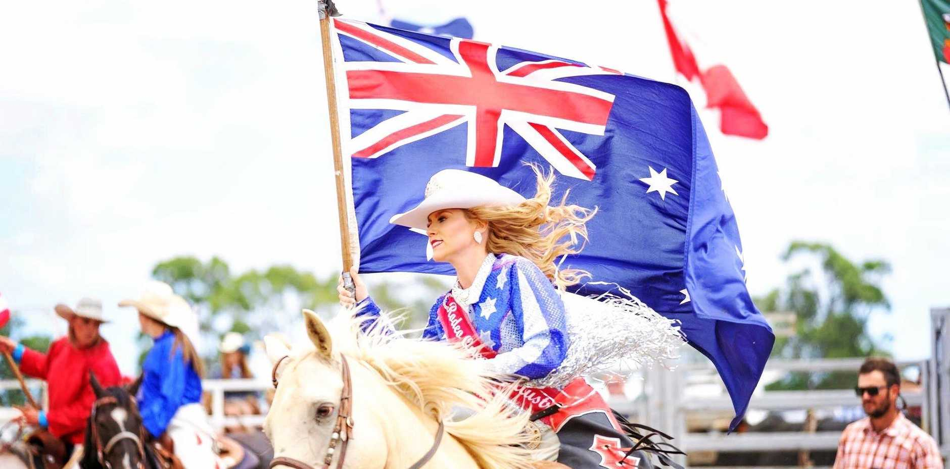 Rodeo Queen of Australia Bessie Smits will no longer be able to ride horses after a near-fatal accident.