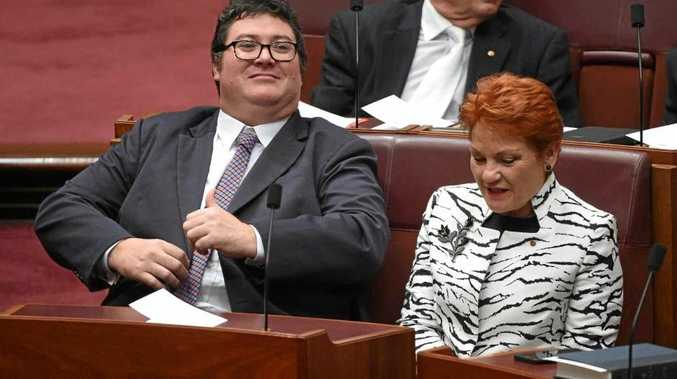ALL ABOARD: The Mackay Mayor wants George Christensen to join with Pauline Hanson and the One Nation party.