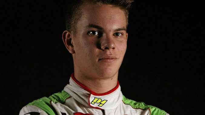 Lucas Dumbrell Motorsport racer Alex Rullo.