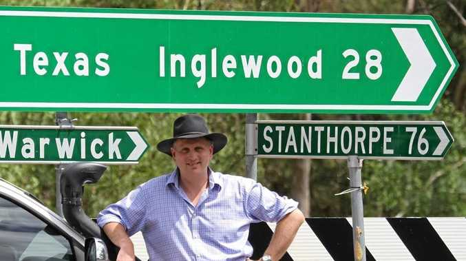 CANDIDACY SECURED: James Lister will represent the LNP in the safe conservative Southern Downs seat at the next state election.