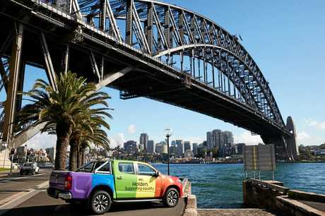 Rainbow Holden Colorado to feature in the 2017 Sydney Gay and Lesbian Mardi Gras Parade