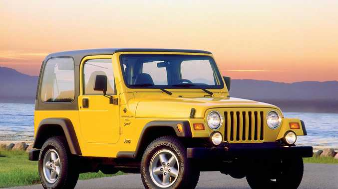 2000 Jeep Wrangler Sport. Photo: Contributed