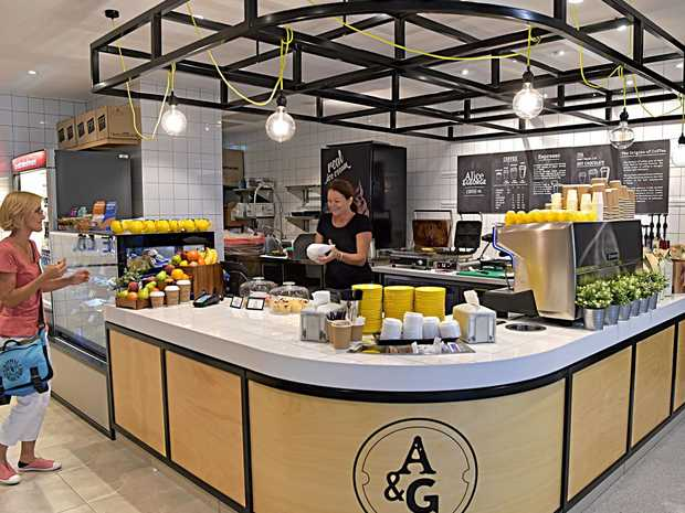 EAT STREET: Alice & George is one of three eateries already open inside the Sunshine Coast University Hospital.