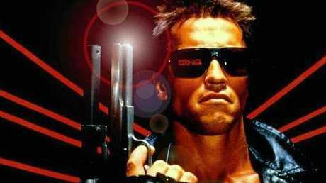 Arnold Schwarzenegger in The Terminator.