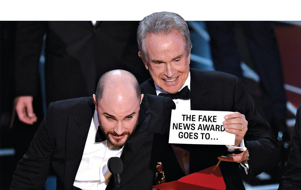 And the fake news award goes to ...