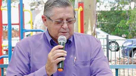 Ted Sorensen giving his Australia Day address