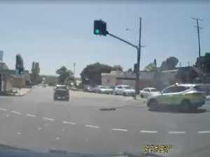 VIDEO: Dashcam footage shows Ipswich crash