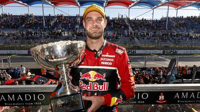 Shane Van Gisbergen of Red Bull Holden Racing Team.