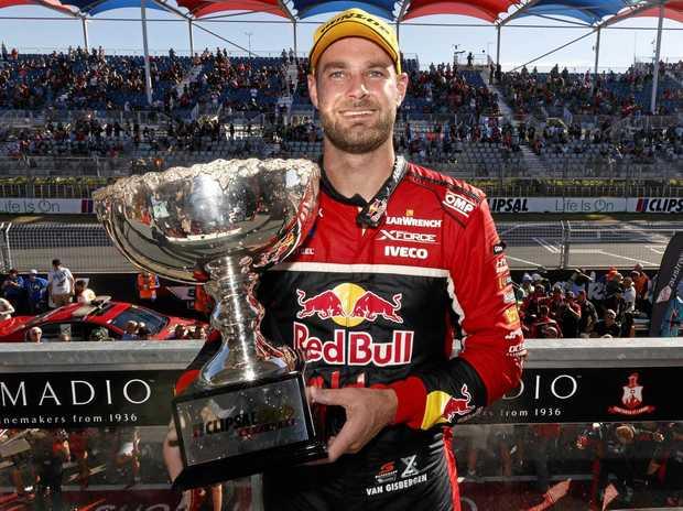 Shane Van Gisbergen of Red Bull Holden Racing Team.