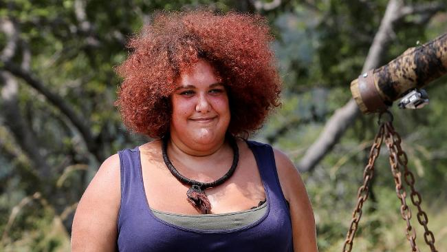 Casey Donovan has lost 11 per cent of her body weight in the jungle.