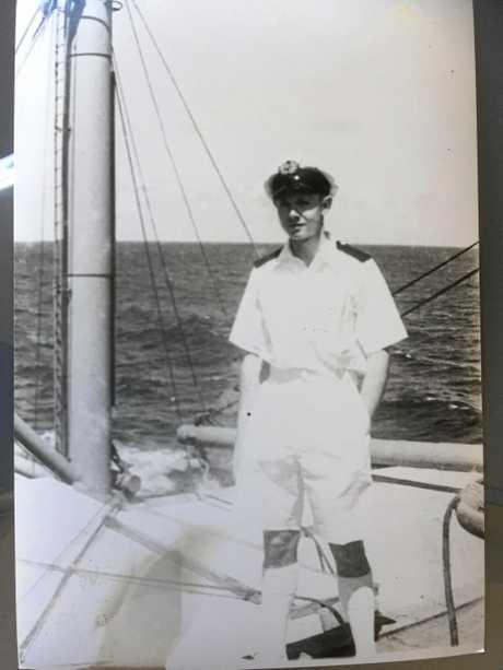 A young Redmond Faulkner