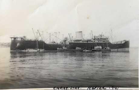 Empire Star Napier NZ 1941