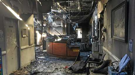 Alma St Medical Centre has been destroyed by a fire.