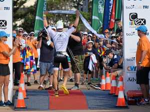 Olympian smashes Coffs Tri race record