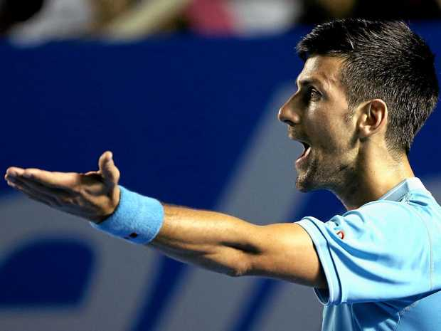 HARD WORK: Novak Djokovic's dedication and drive have taken a toll on his career, says his former coach.