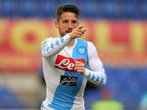 Footballer 'marks territory' after goal for Napoli
