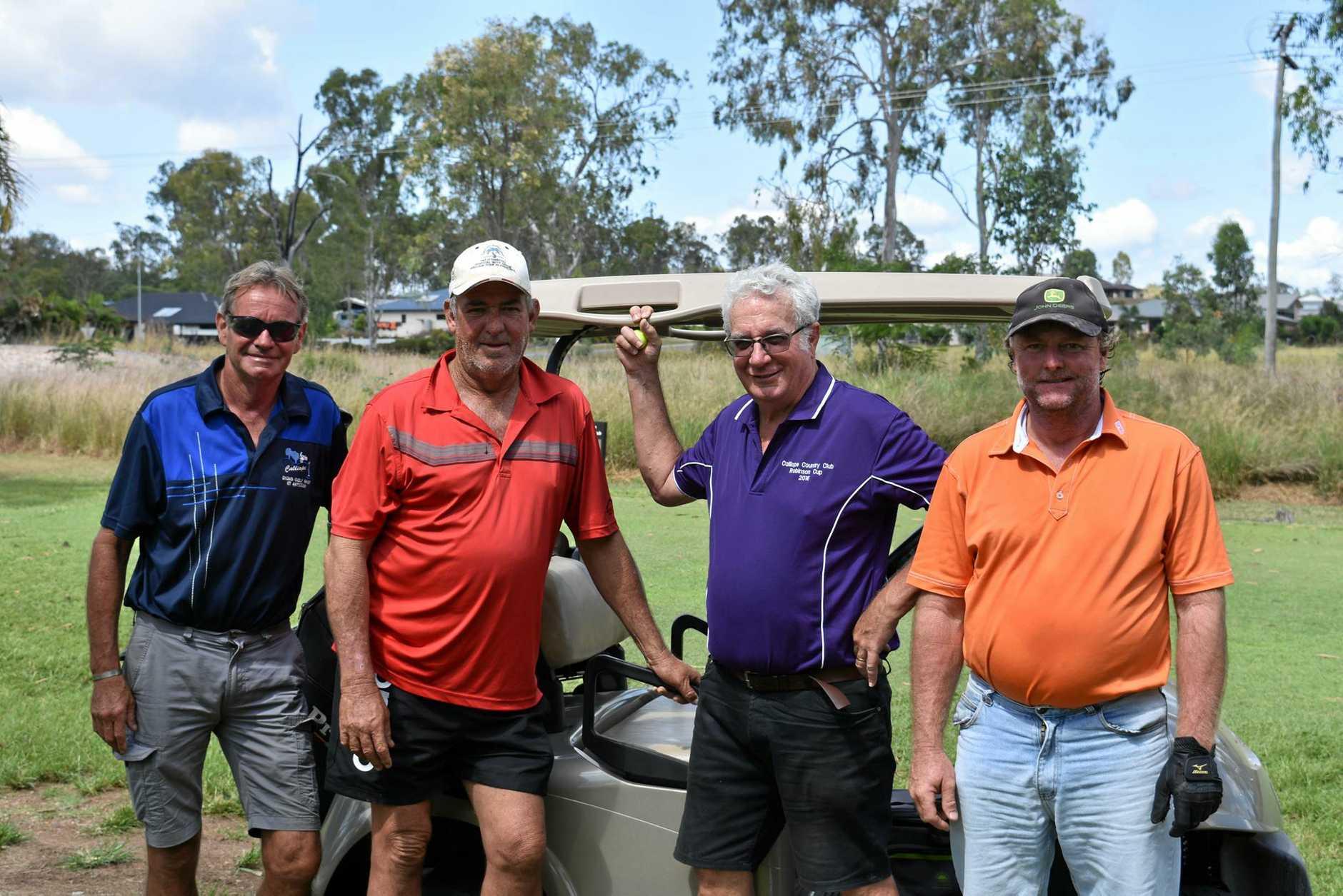 Mark Jones, Brett Rideout, Graeme Johnson and Steven Cruwys.