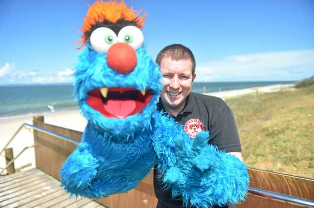 Puppeteer Brett Hansen has been nominated for the presitgous What's On 4 Kids 2017 Awards with Troggg and Flossy.