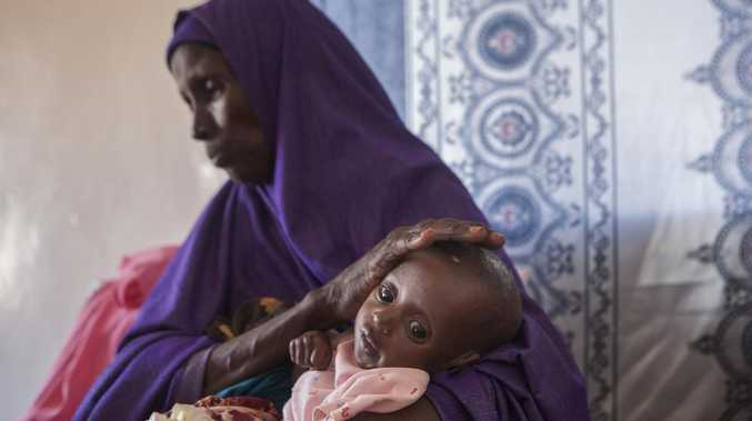 Twelve million people in Somalia are said to be affected by the worsening famine — with 50,000 children facing death, according to Save the Children.