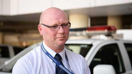 Detective Acting Senior Sergeant Scott Ingram of the Rockhampton CIB.