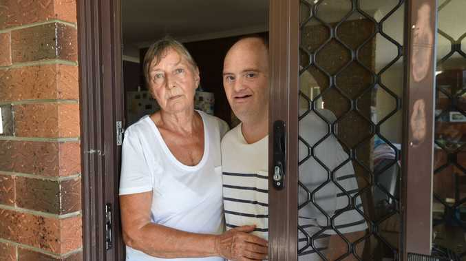 Lilli Beck-Wood and her son Shaun Wood had their car and house window smashed in an attack on the weekend.