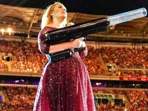 Adele confesses worldwide secret to Queensland crowd