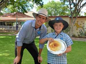 Annual pancake race