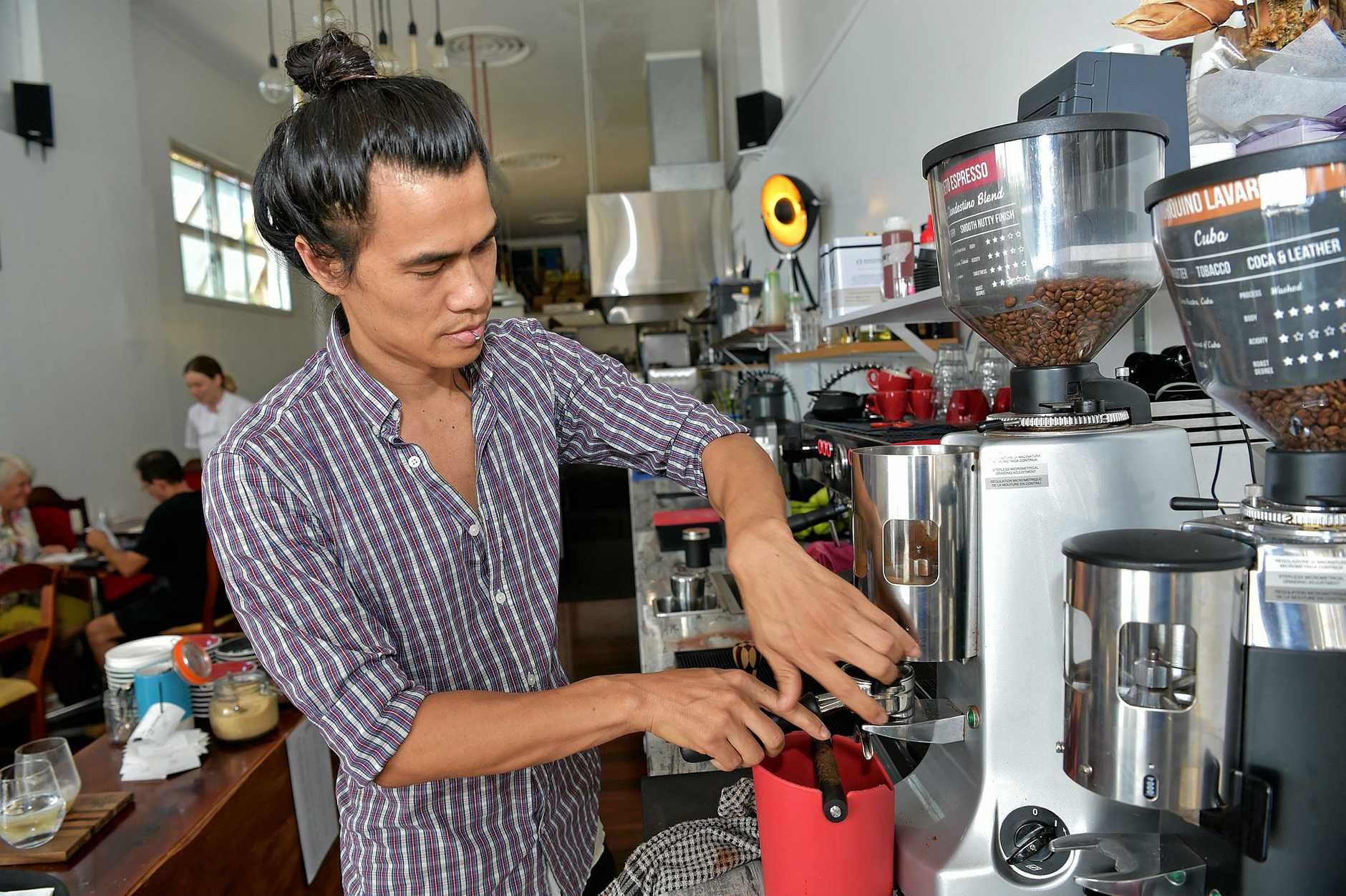 Vila Kone, the owner of Nambour Social, said the town would feel the impact if the council relocated a large proportion of its staff to Maroochydore.