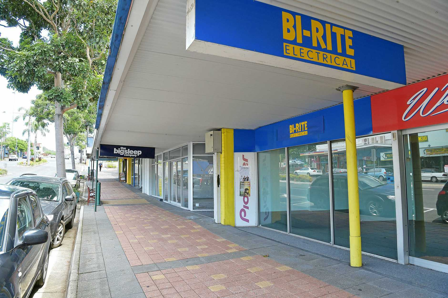 Another empty shopfront in Nambour's main street.