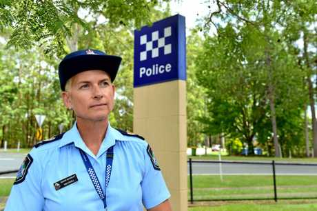 Beerwah police officer-in-charge Senior Sergeant Kim Cavell wants residents to tighten up home security to stop people breaking in.