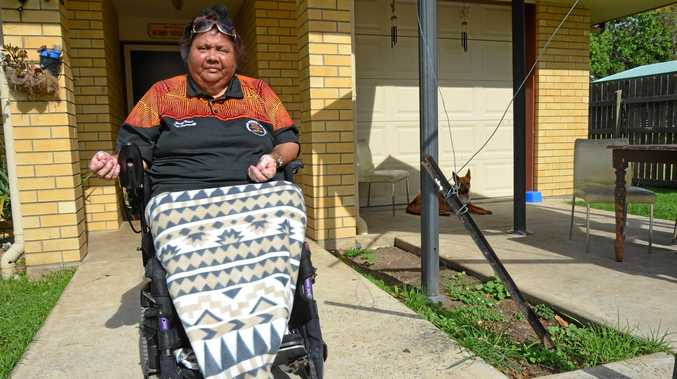 Aunty Alana Purcell has launched a group to try and get a disability access vehicle for Cherbourg.