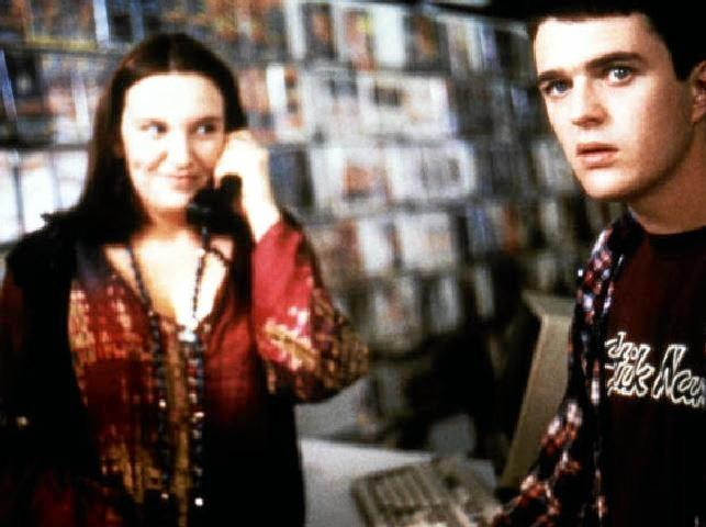Muriel's Wedding. Muriel worked in a Sydney video store before the evil internet killed them all.