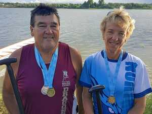 Dragon boat stars return with haul