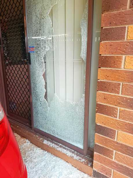 Lilli Beck-Wood is fearful of being in her own home after her car and front door were smashed over the weekend.