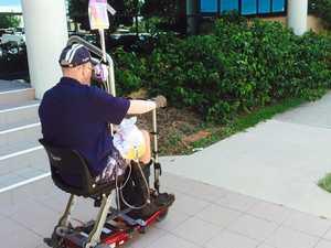 Coolum 'Santa' wheeled his way back to court