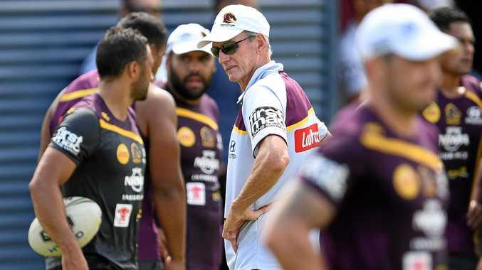 Brisbane Broncos coach Wayne Bennett.