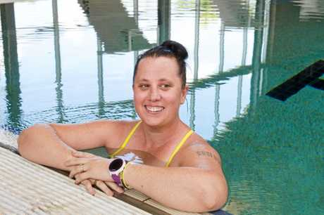 SUPER SWIM:  Kelly Lowndes will attempt the English Channel crossing by swimming backstroke.  Friday Mar 03, 2017.