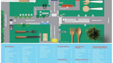 Eat the Street Map