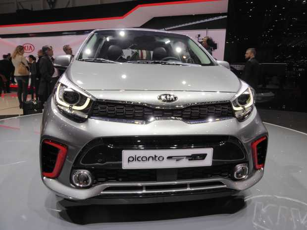 2017 Kia Picanto at the 2017 Geneva Motor Show