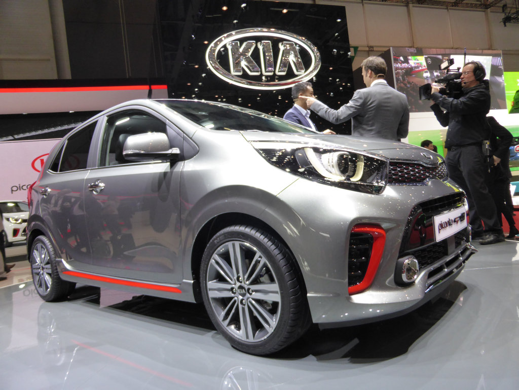 NEW STYLE: We discover the new third-generation Kia Picanto - Australia's best-selling city car - at its global reveal at the Geneva Motor Show