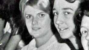 Shirley and Mima at a social function.